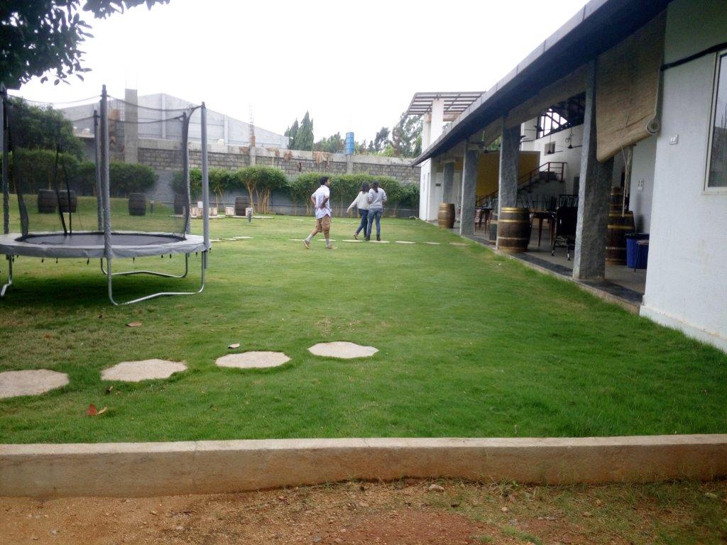 Playground inside Heritage Winery
